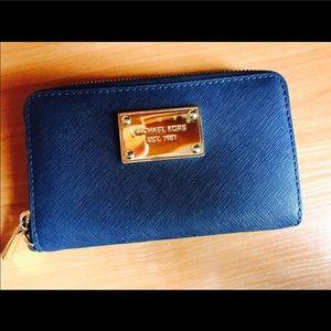 Michael Kors Bags - Michael Kors Wallet - GRAY/BLUE